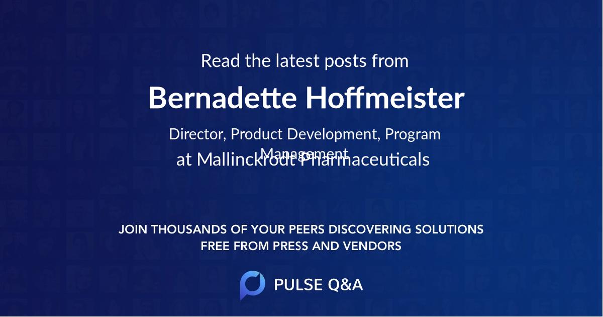Bernadette Hoffmeister