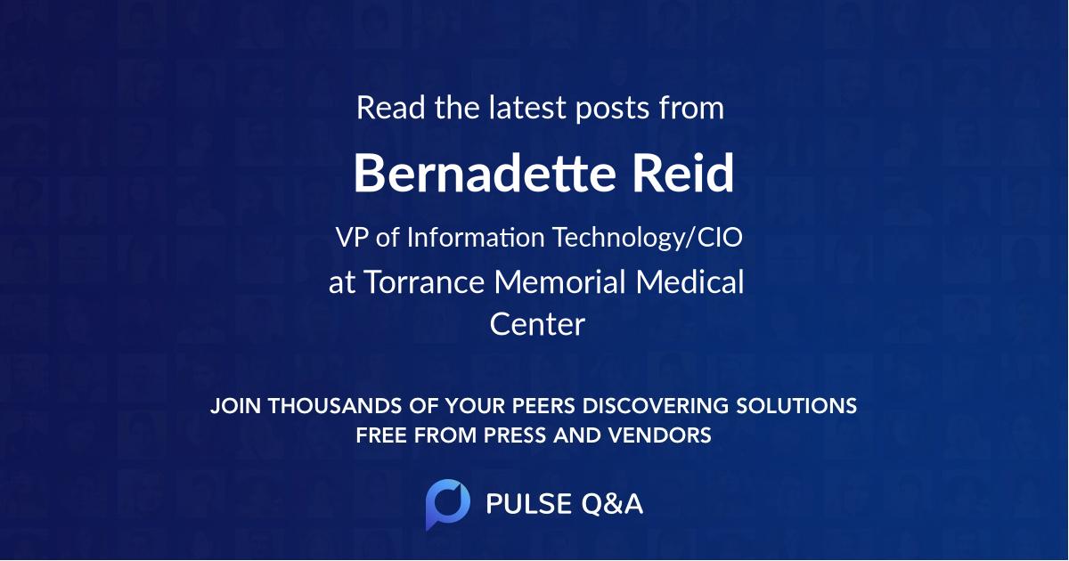 Bernadette Reid
