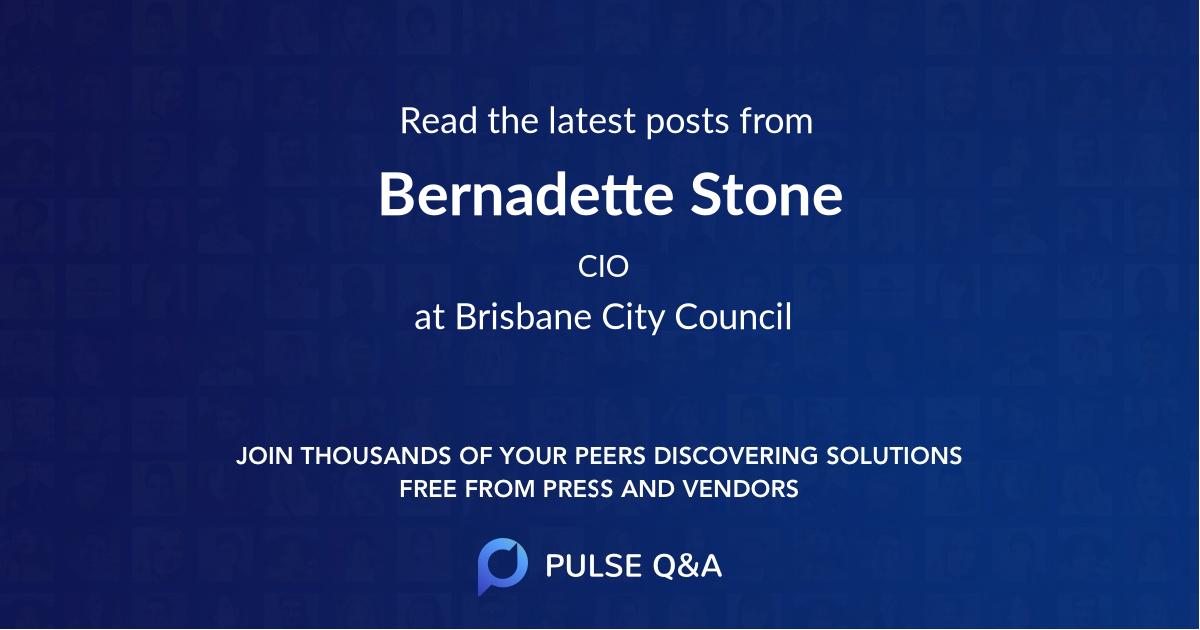 Bernadette Stone