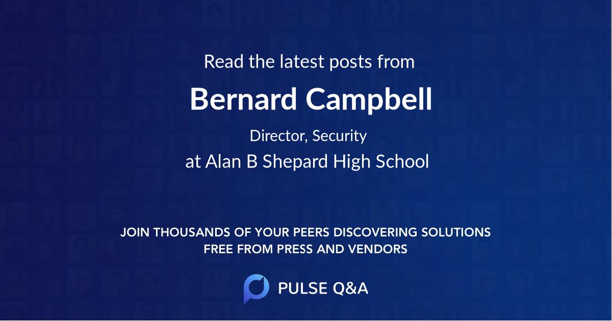 Bernard Campbell