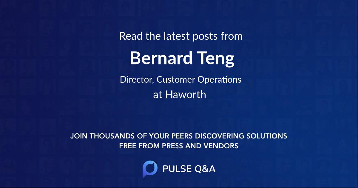 Bernard Teng
