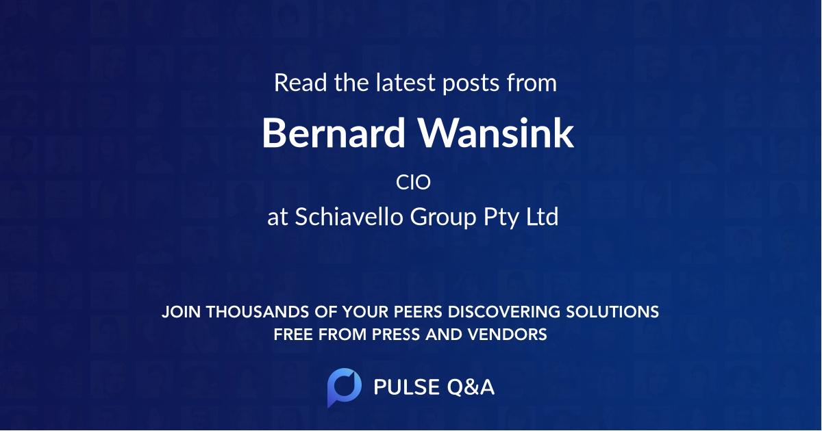 Bernard Wansink