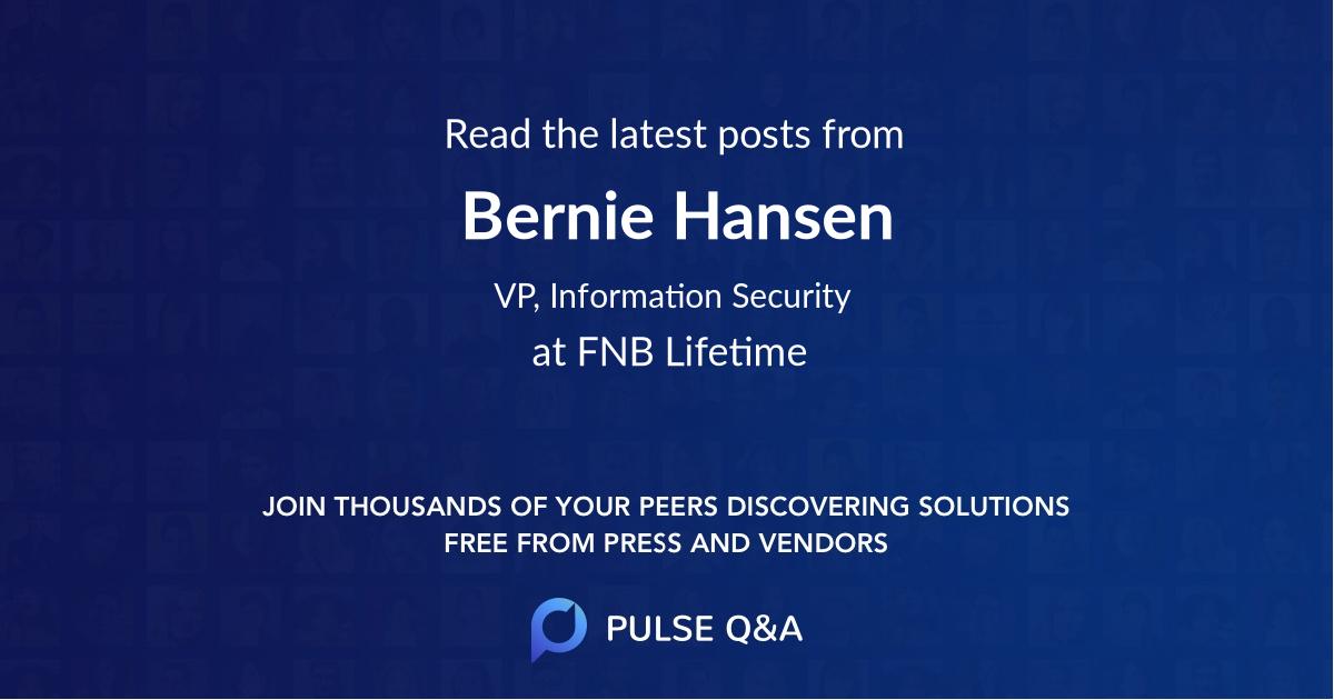 Bernie Hansen