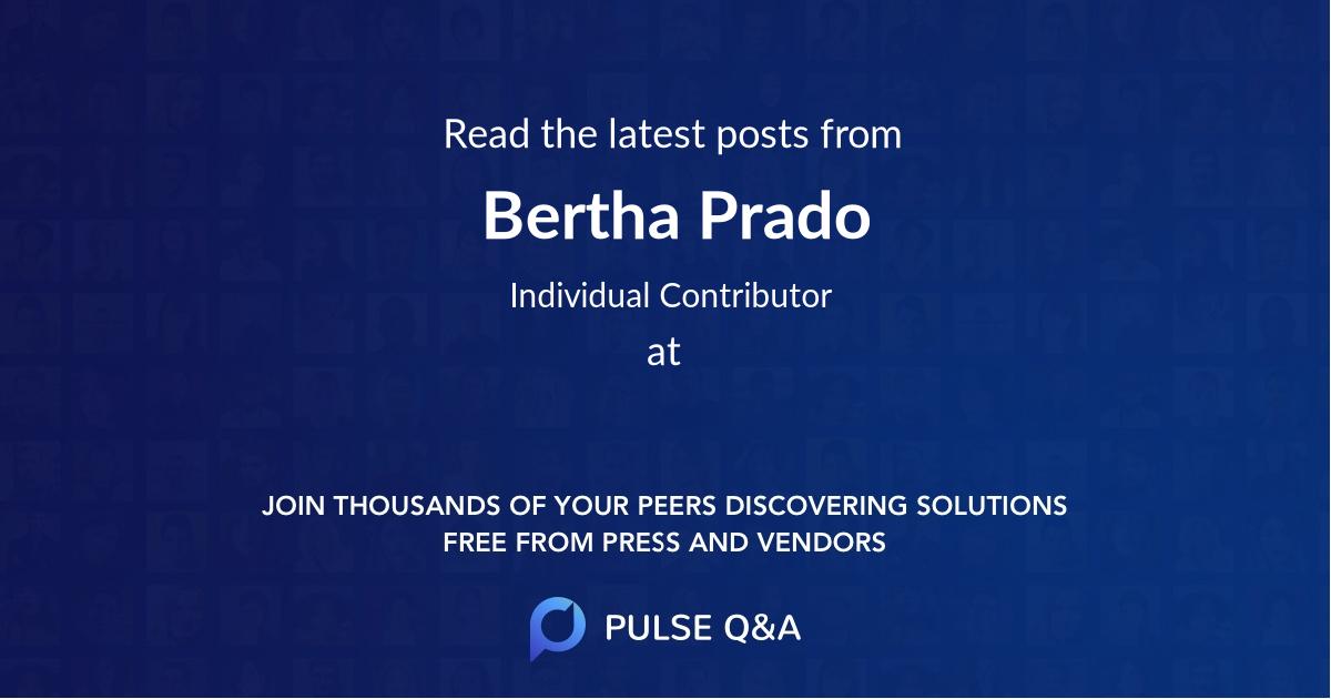 Bertha Prado
