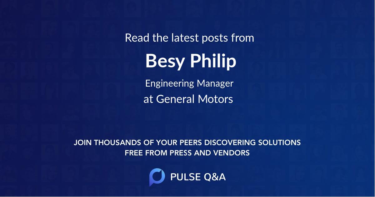 Besy Philip