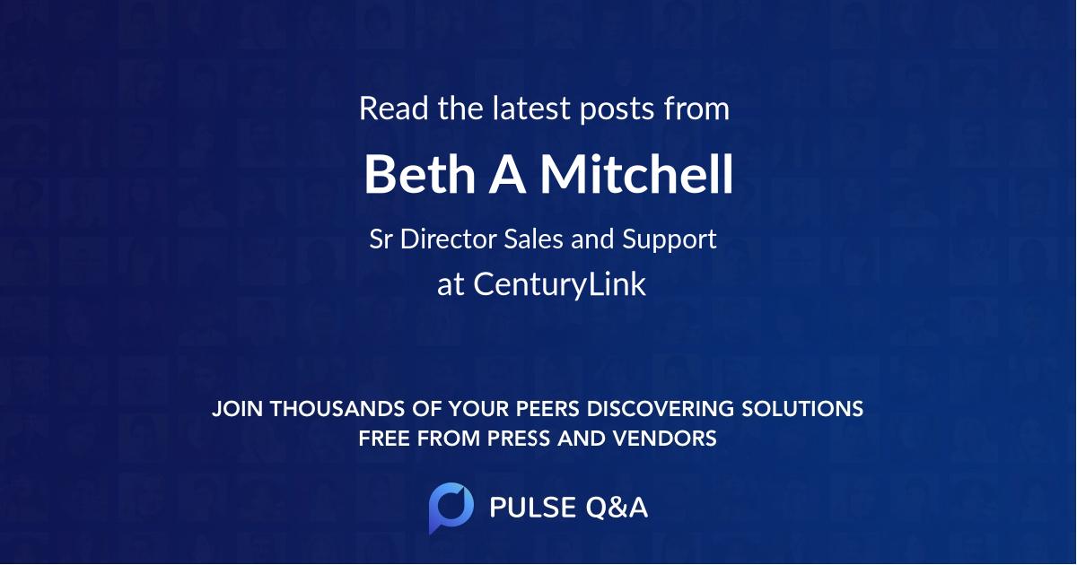 Beth A. Mitchell