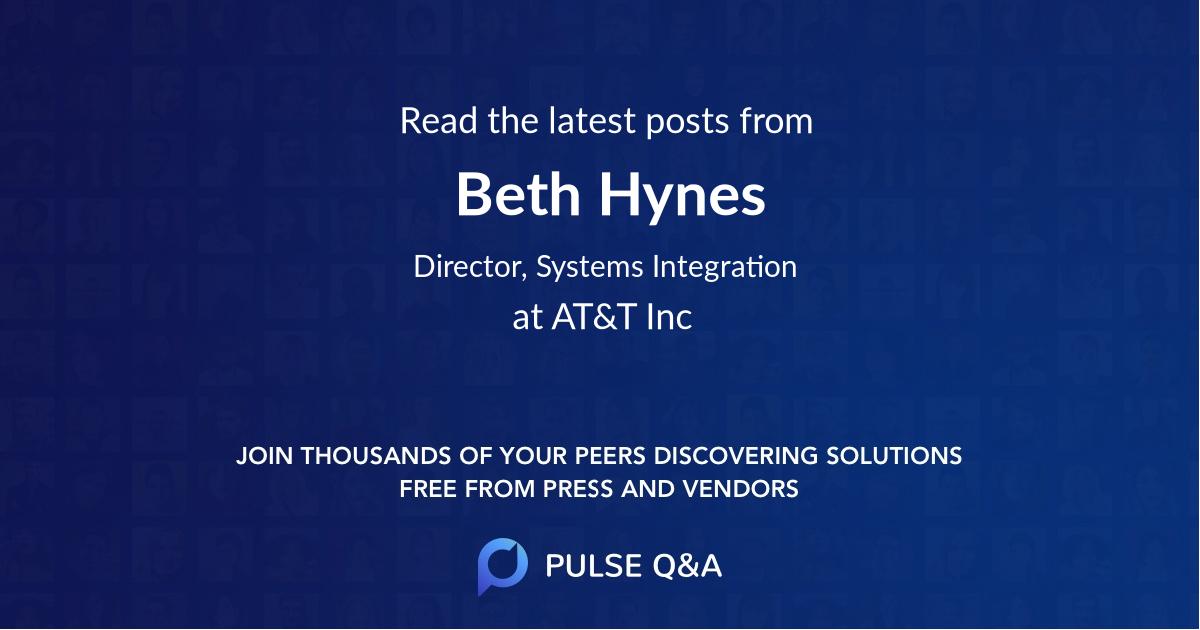 Beth Hynes