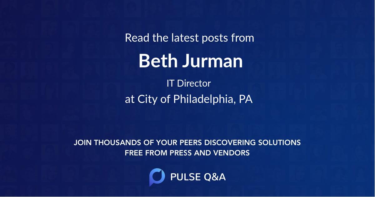 Beth Jurman
