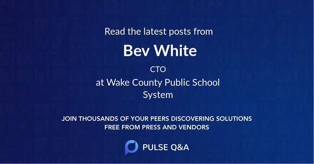 Bev White