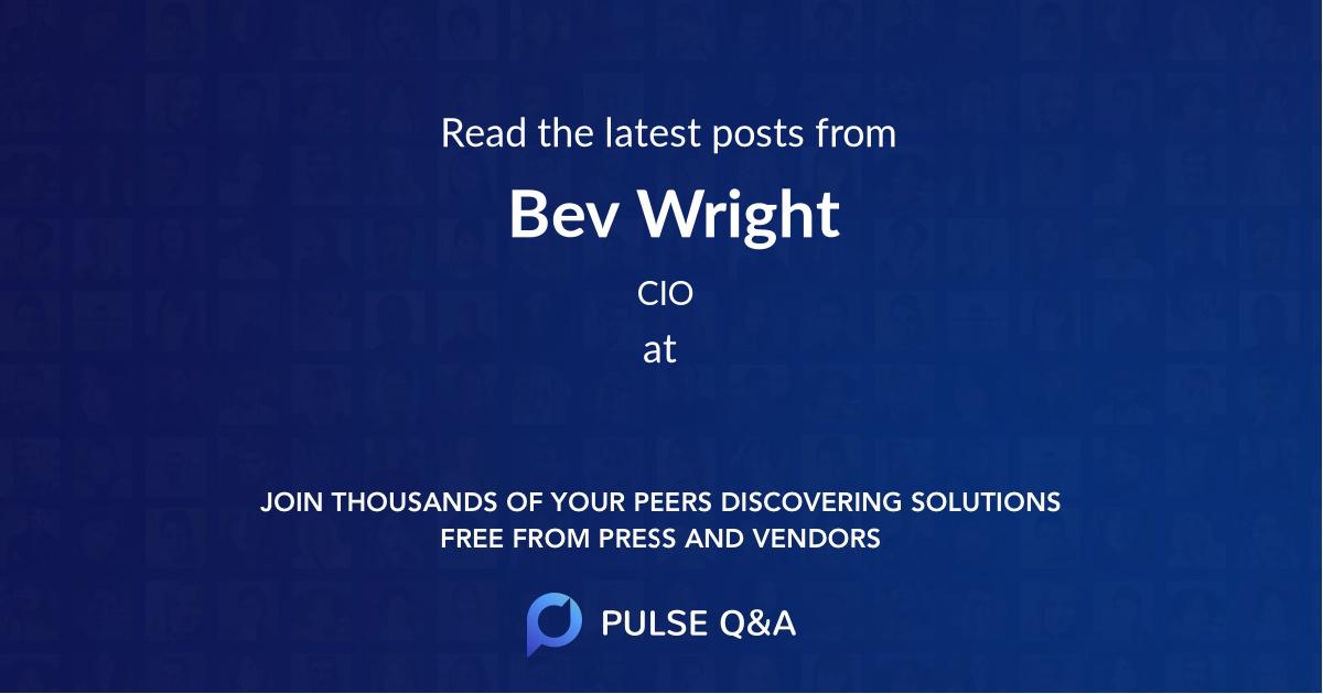 Bev Wright