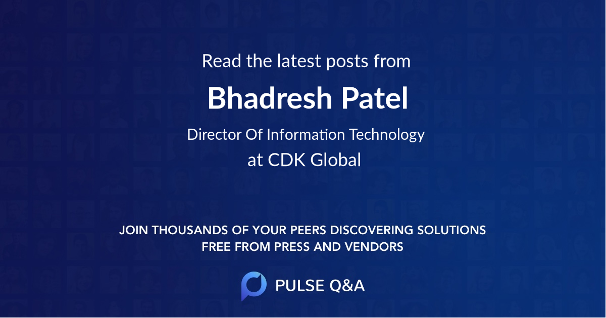 Bhadresh Patel