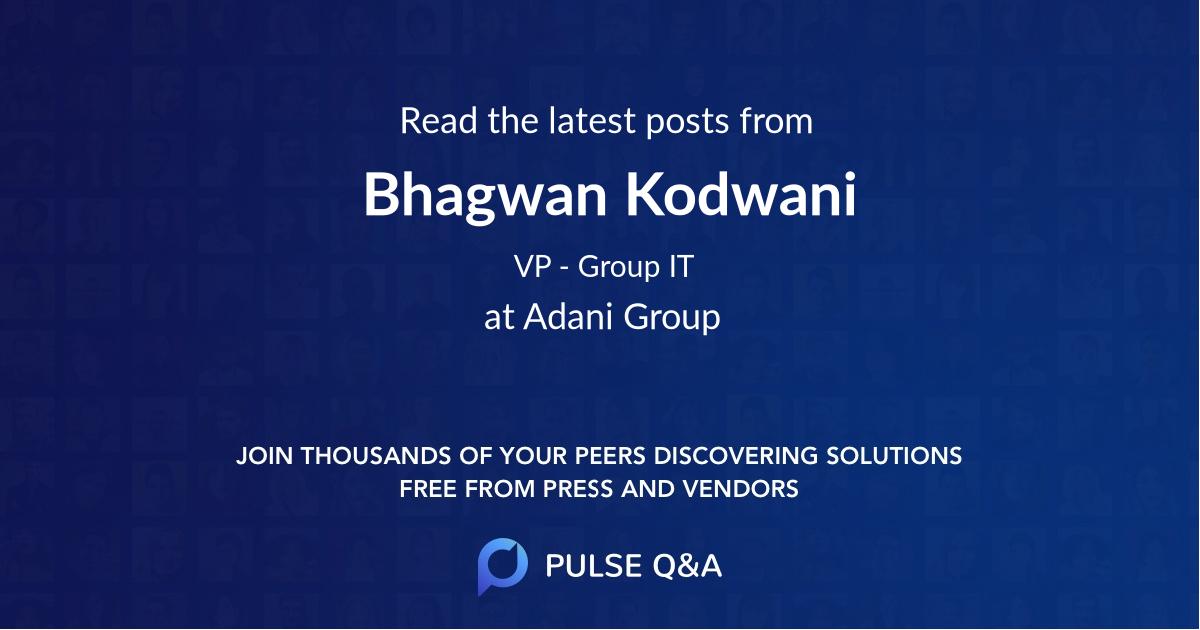 Bhagwan Kodwani
