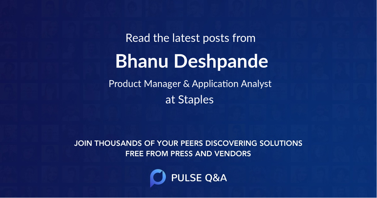 Bhanu Deshpande