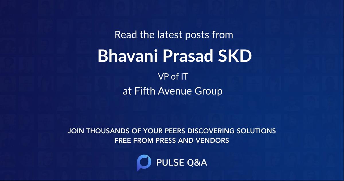 Bhavani Prasad SKD