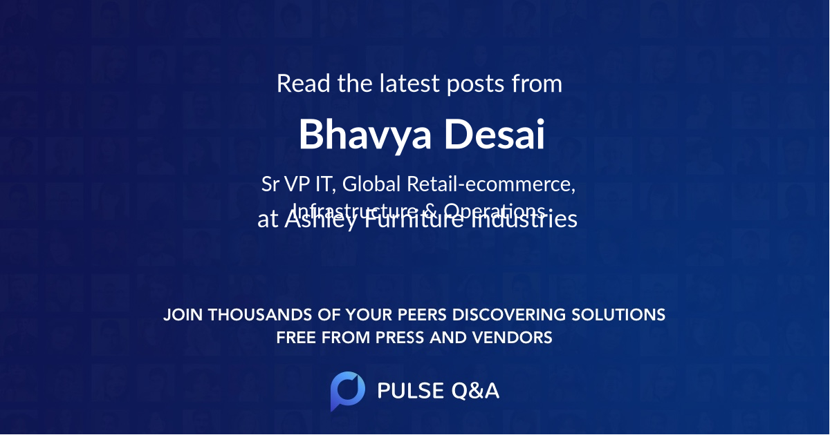 Bhavya Desai