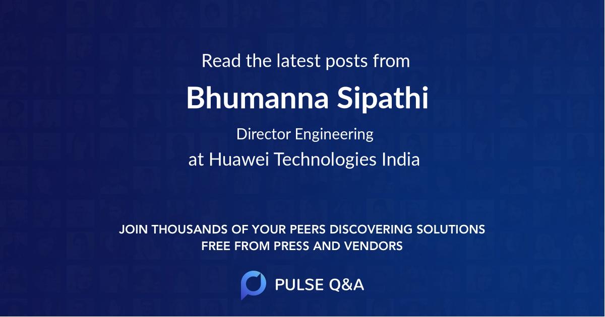 Bhumanna Sipathi