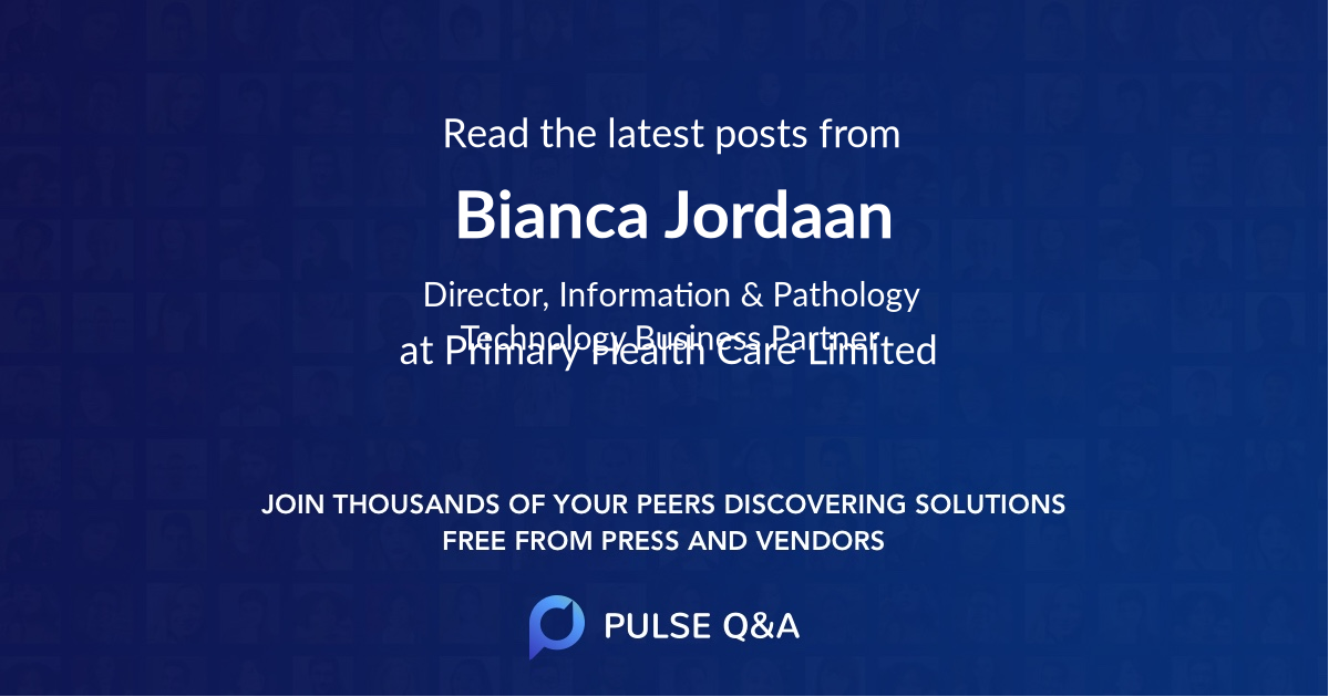 Bianca Jordaan