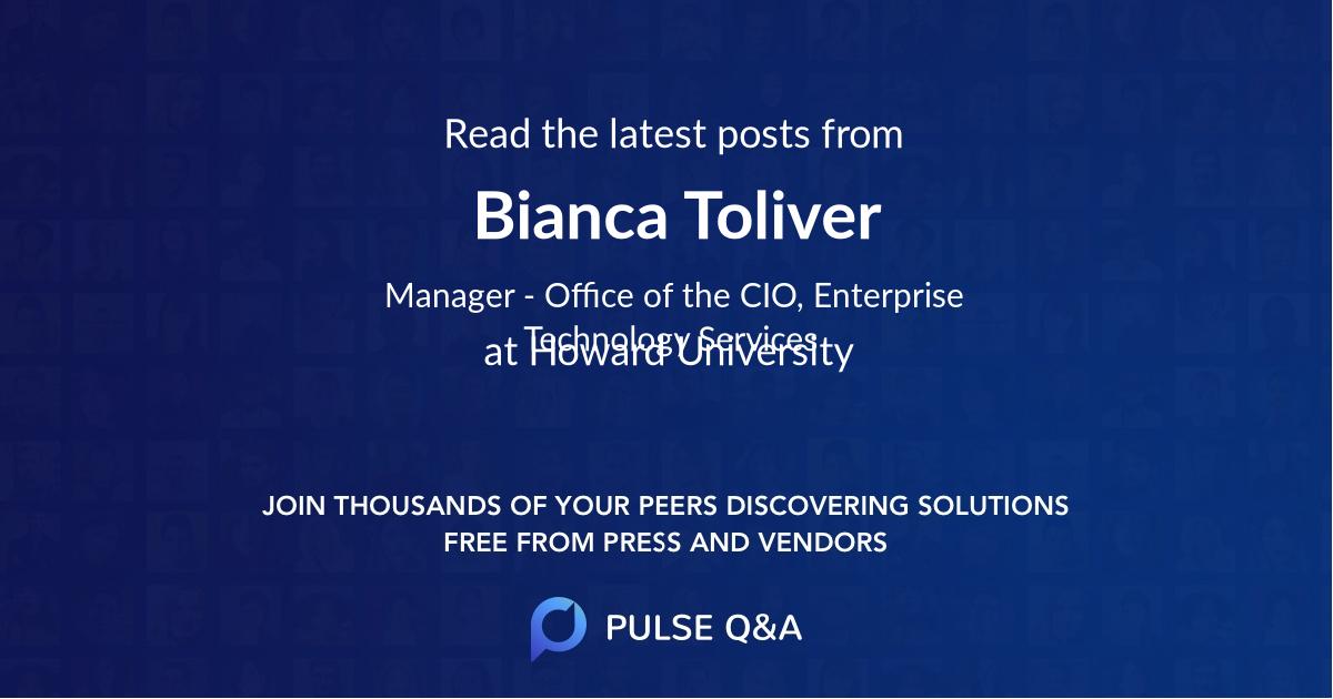 Bianca Toliver
