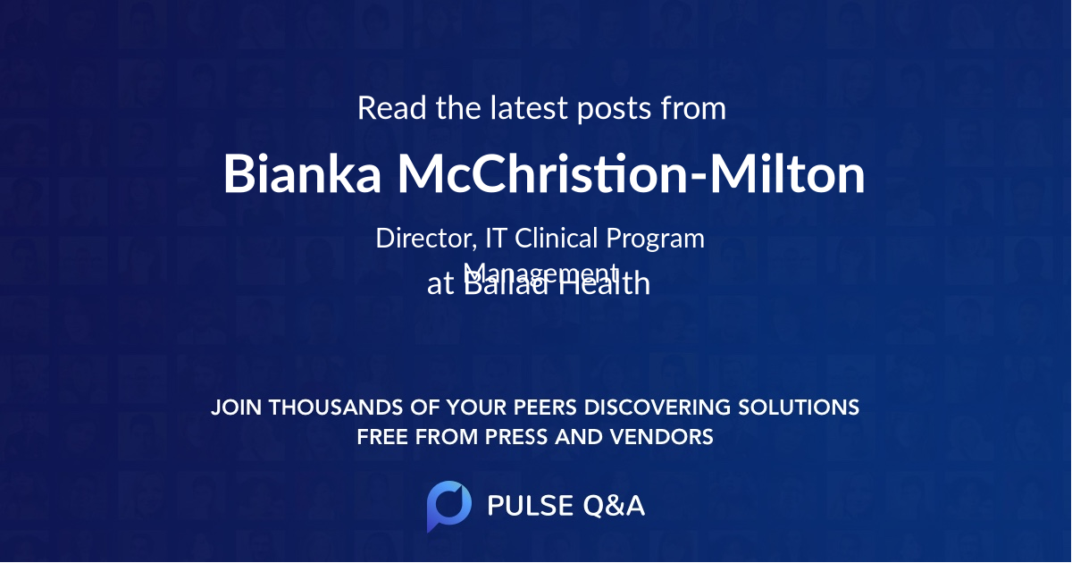 Bianka McChristion-Milton