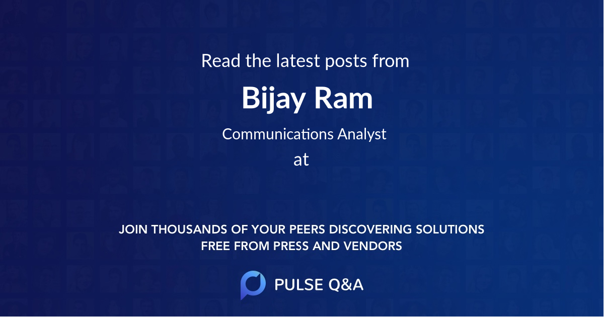 Bijay Ram