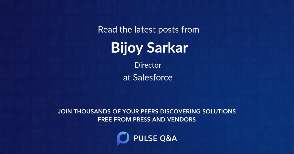 Bijoy Sarkar