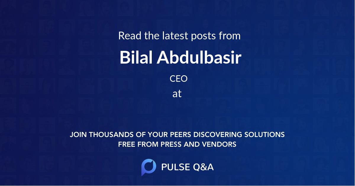 Bilal Abdulbasir
