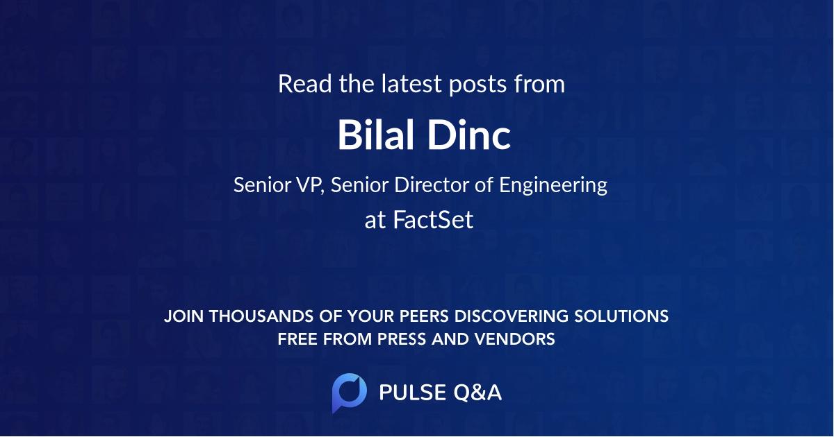 Bilal Dinc
