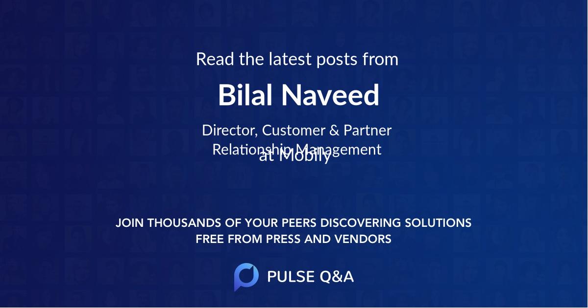Bilal Naveed