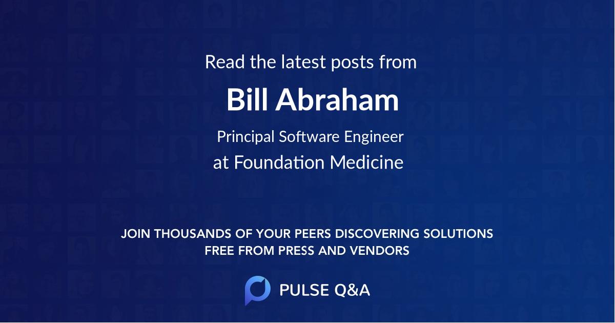 Bill Abraham