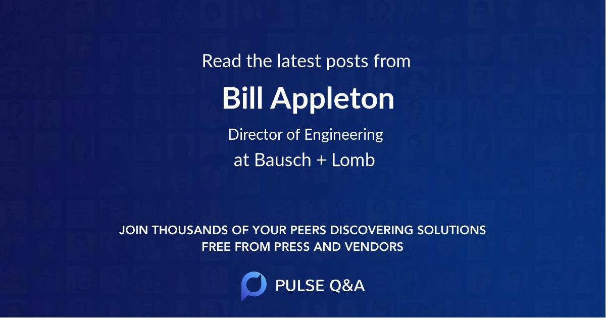 Bill Appleton