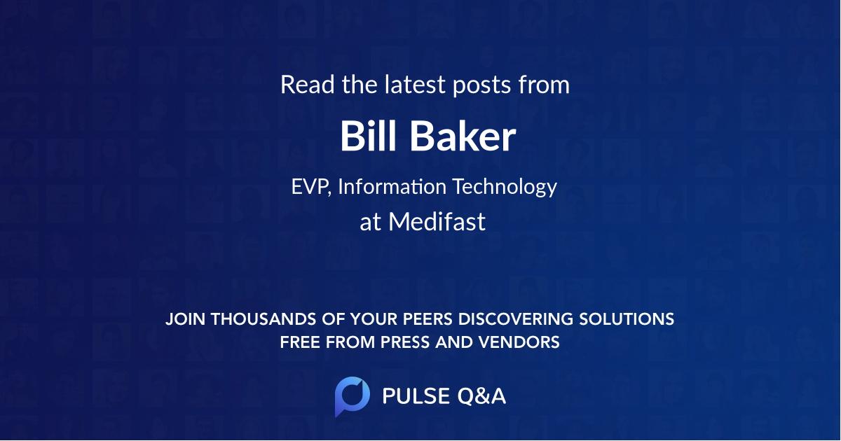 Bill Baker