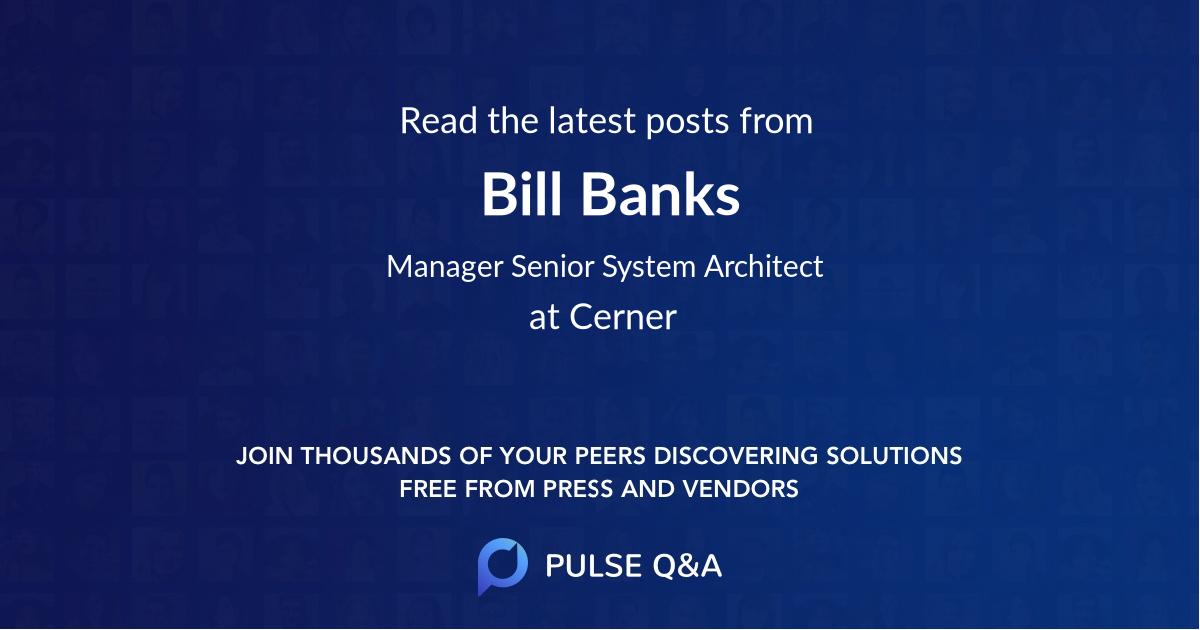Bill Banks
