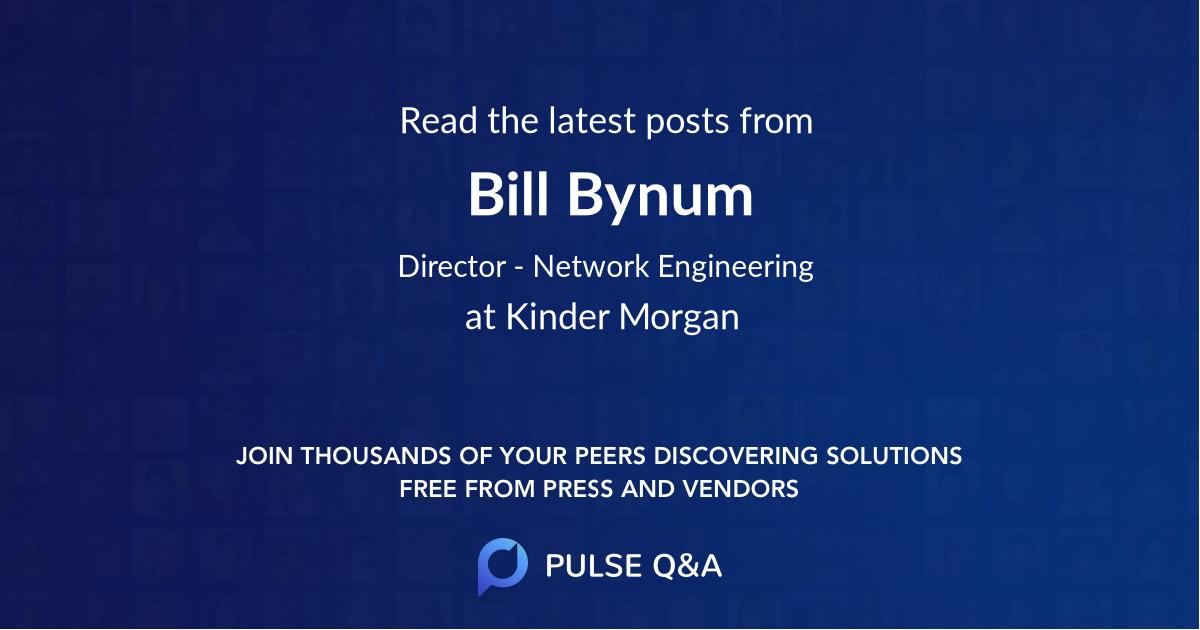 Bill Bynum