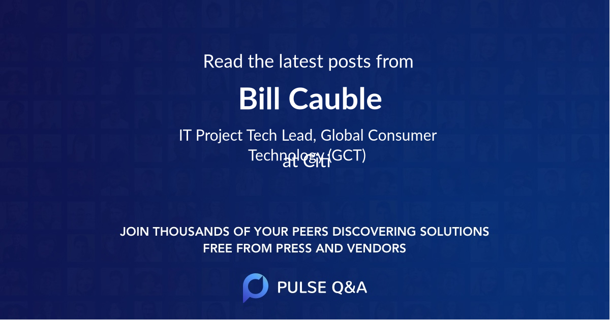Bill Cauble