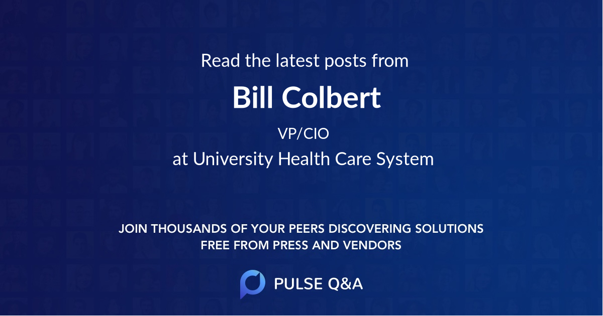 Bill Colbert