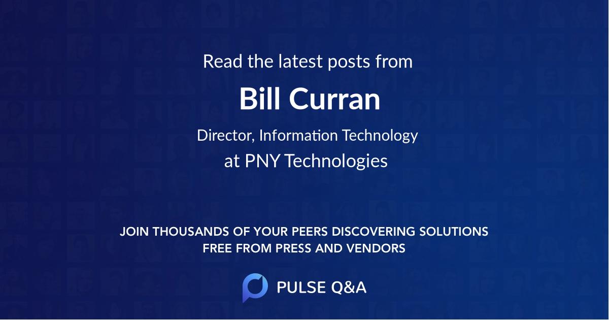 Bill Curran