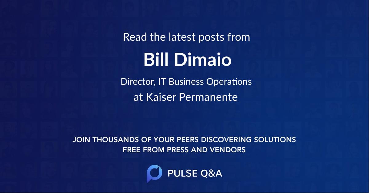 Bill Dimaio