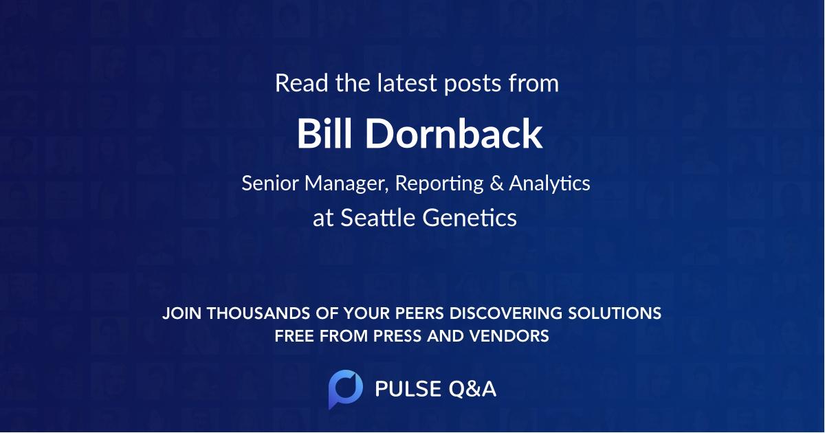 Bill Dornback