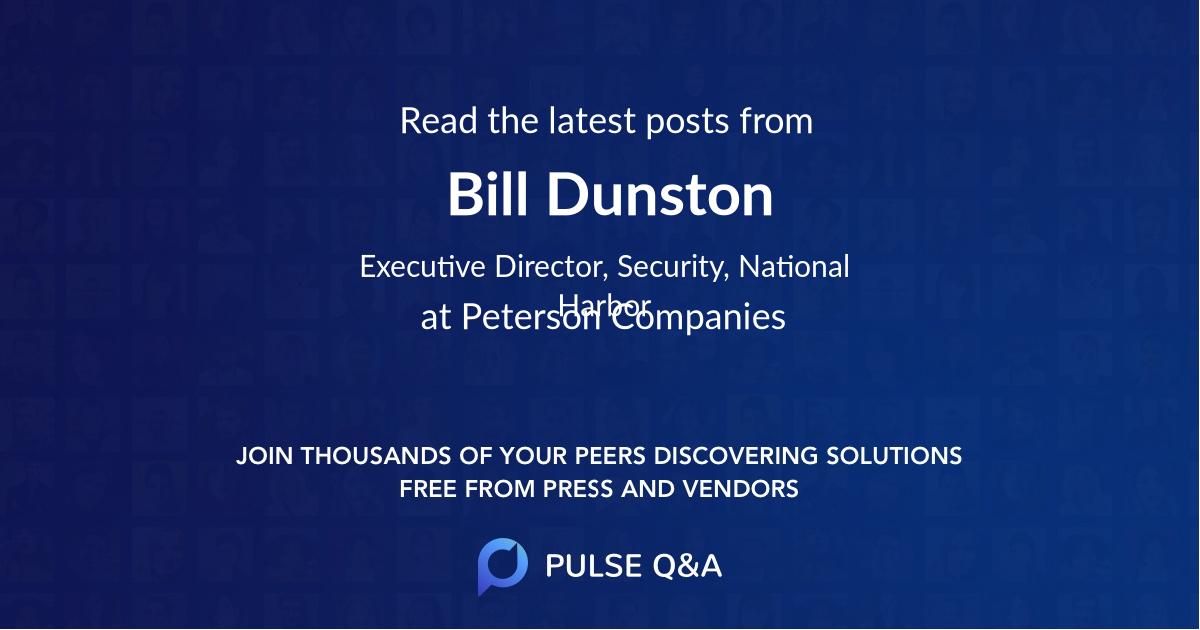 Bill Dunston