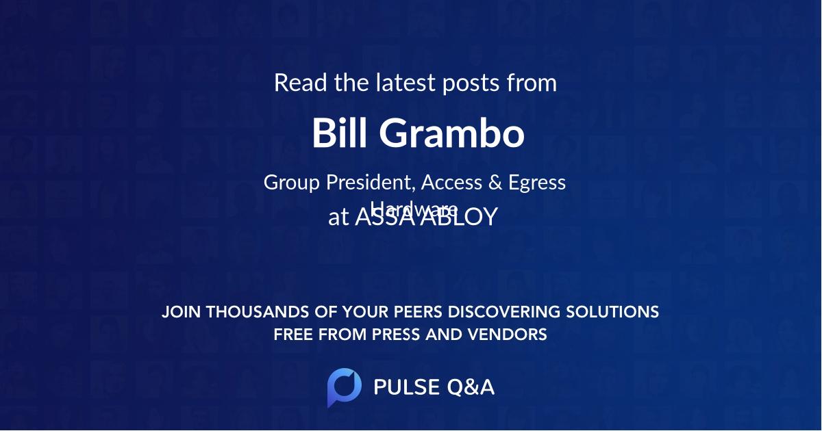 Bill Grambo
