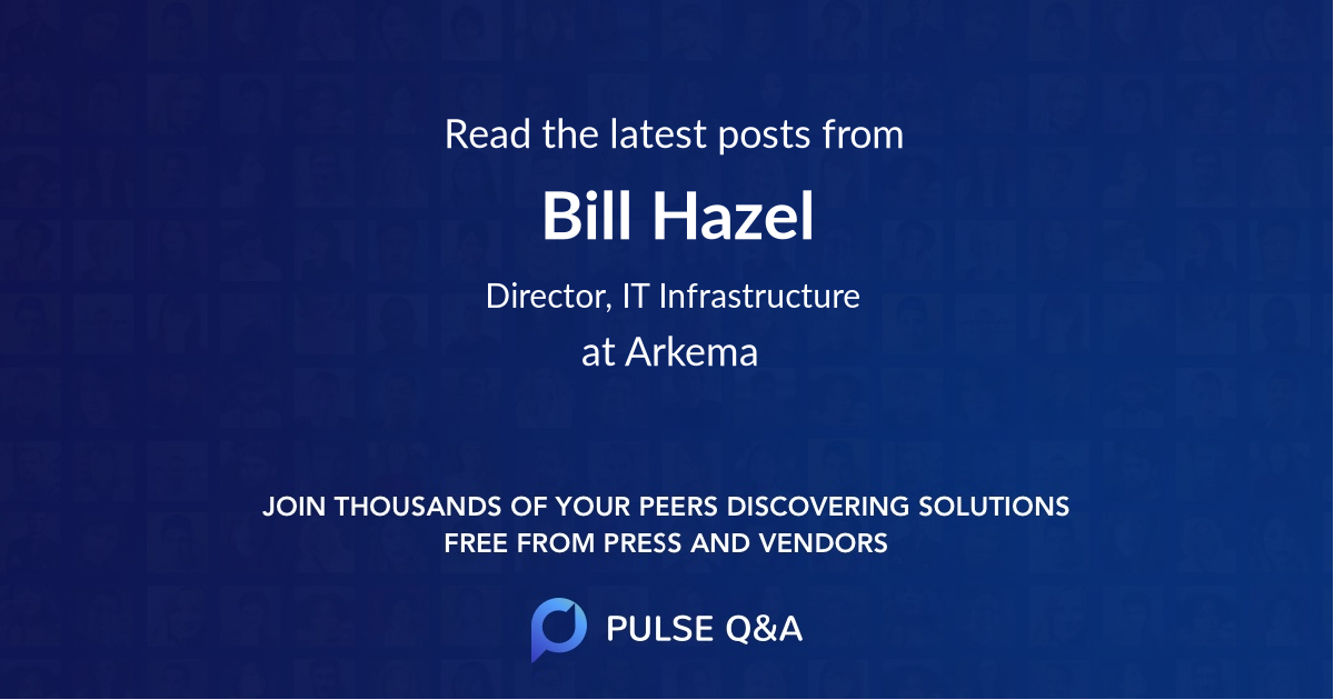 Bill Hazel
