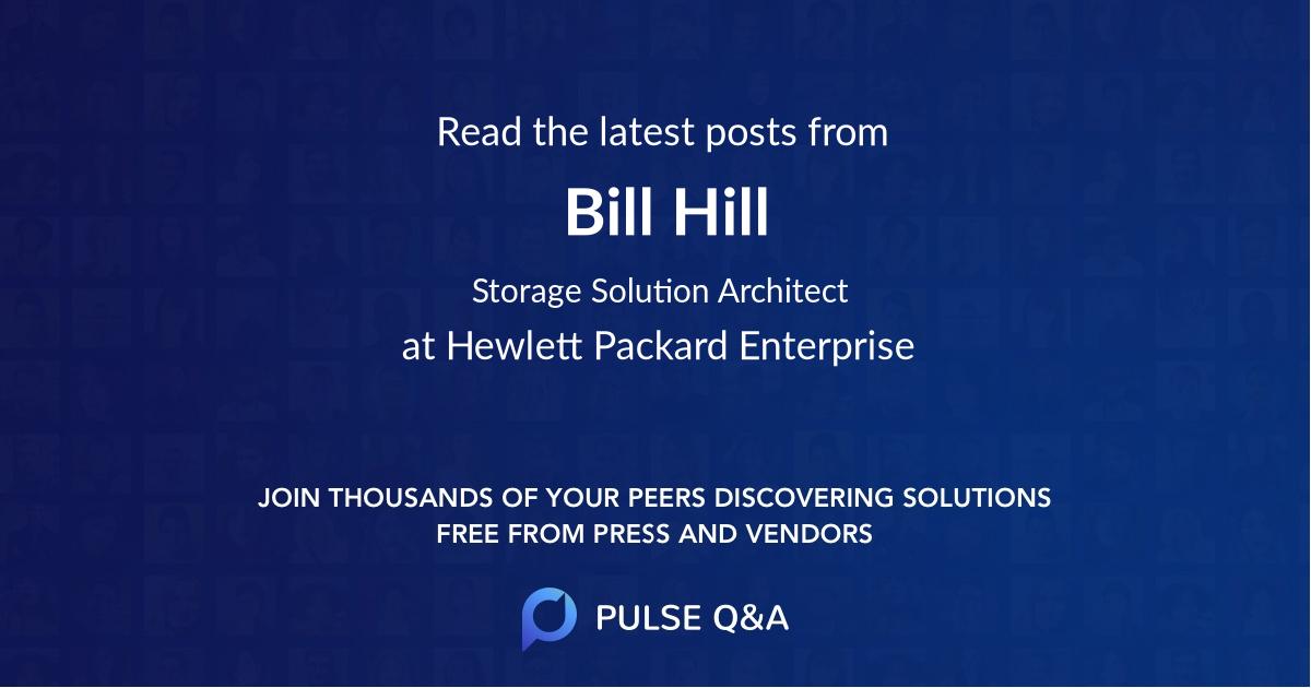 Bill Hill