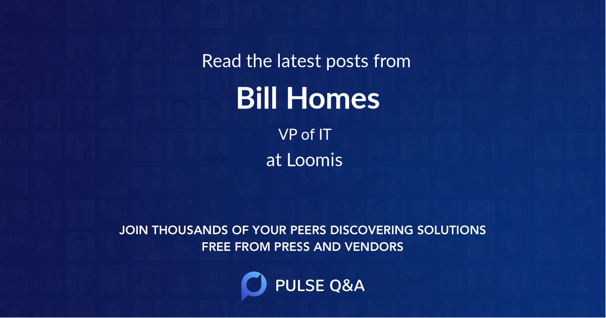Bill Homes
