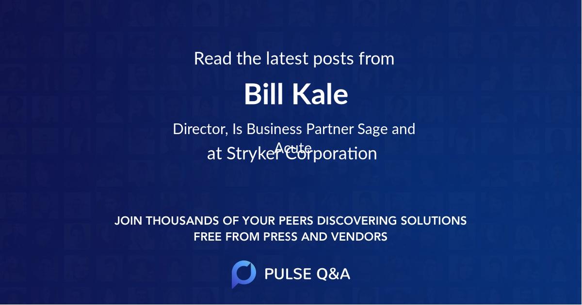 Bill Kale