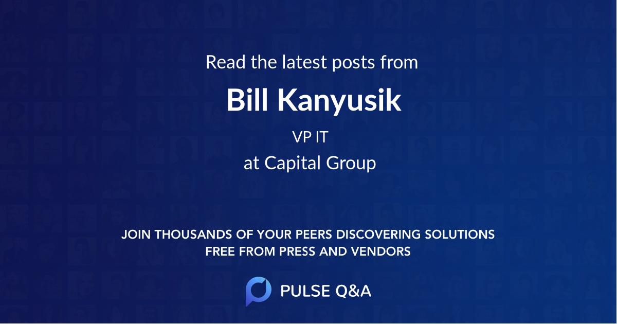 Bill Kanyusik