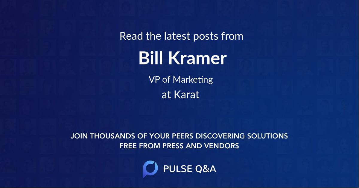Bill Kramer