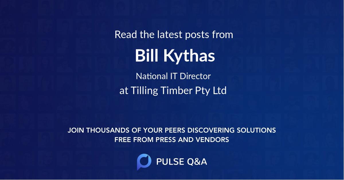 Bill Kythas