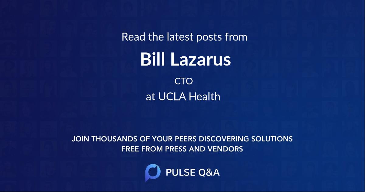 Bill Lazarus