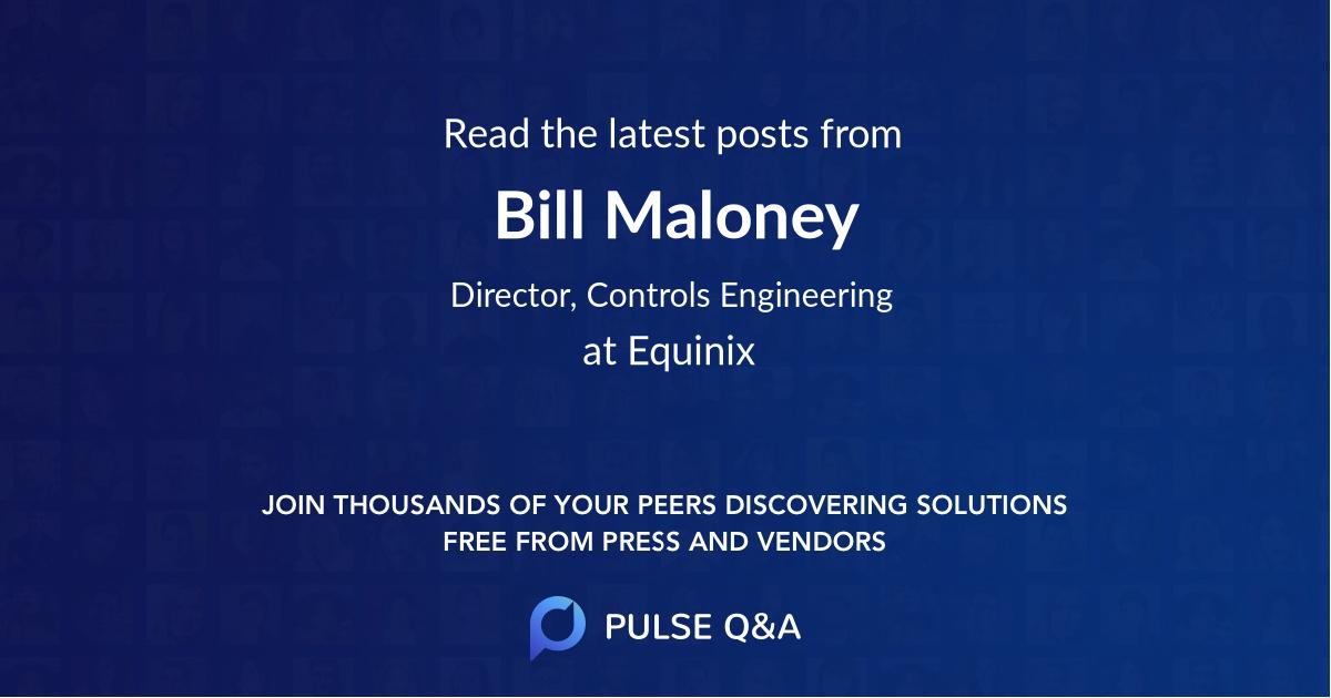 Bill Maloney