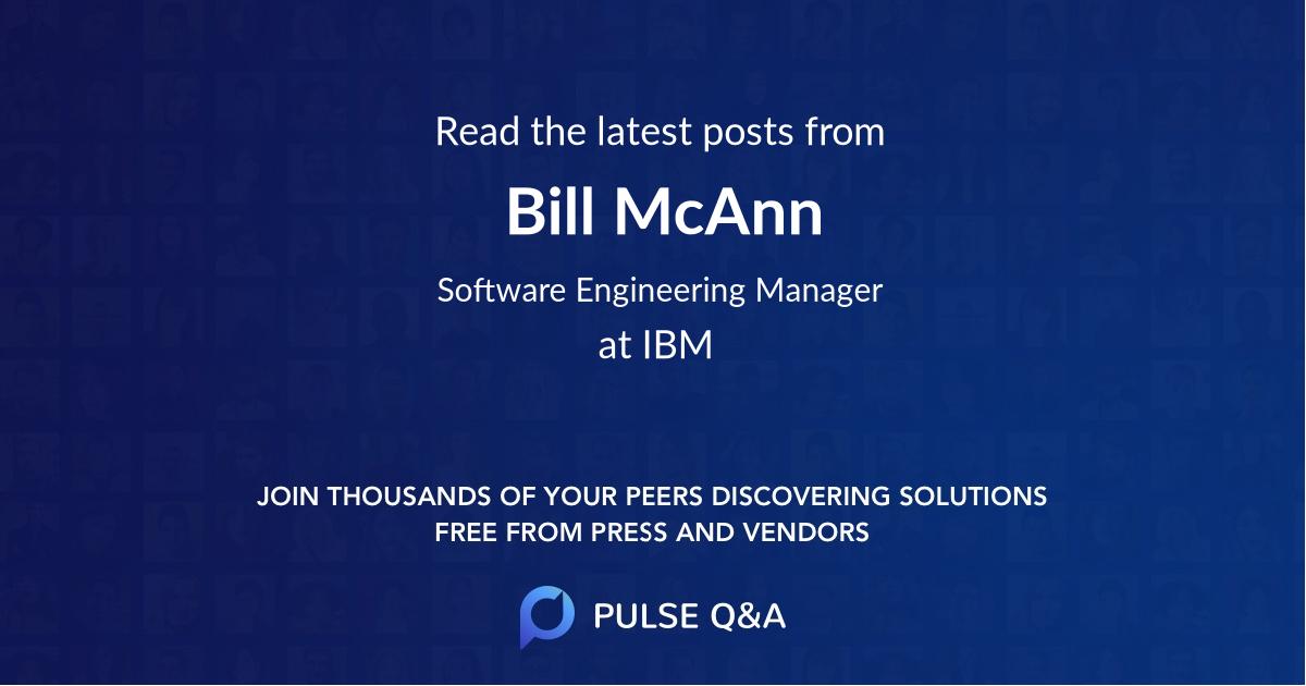 Bill McAnn